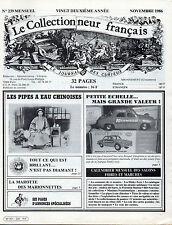 LE COLLECTIONNEUR FRANÇAIS N° 239 / 1986 = Pipes chinoises + Andrea del Sarto...