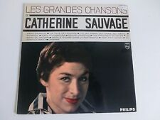 Catherine Sauvage Les Grandes Chansons Philips LP