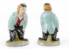 Cirque PHILIPPE 1948 / CLOWN BLEU / figurine aluminium / jouet ancien CIRCUS