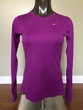 New Nike Women's Size S Long sleeve Dri Fit Pink T Shirt 744743