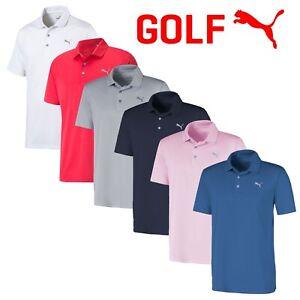 Puma Rotation Men's Short Sleeve Golf Polo Shirt - NEW! 2021 *MULTI-BUY OFFERS*