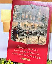"Thomas Kinkade ""A Holiday Gathering Gold"" Christmas Cards by DaySpring"