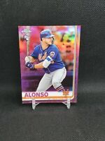 2019 Topps Chrome Pete Alonso Pink Refractor Rookie Card Rc #204 Mets