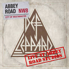 """Def Leppard LIVE AT ABBEY ROAD STUDIOS Limited RSD 2018 New Vinyl 12"""" Single"""