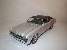 "gmp  Chevrolet  Nova  ""1969""  (silber)  1:18 ohne Verpackung !"