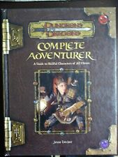 Dungeons and Dragons Complete Adventurer Supplemental Book