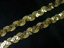 Ribetes de costura sin marca color principal oro