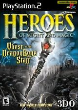 HEROES OF MIGHT AND MAGIC Playstation 2 PS2 PAL Ottime Condizioni!