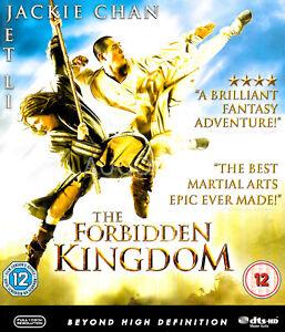 The Forbidden Kingdom - Rare Blu-Ray Aus Stock -Excellent