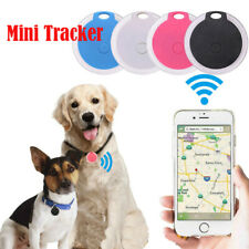 More details for new mini bluetooth pet anti-lost gps tracker finder device for kids cat dog keys