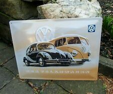 - Der Volkswagen - Beetle BUG Samba BUS - VW LARGE WALL SIGN - Made in Germany