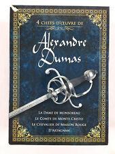 Alexandre Dumas Coffret DVD La Dame De Monsoreau Le Chevalier De Maison Rouge...