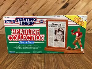 1991 Kenner - Starting Lineup Headline Collection - Joe Montana - 49ers