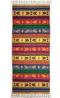 Southwest Design Wrap Shawl Bright Aztec Arrow Designs Serape Colorful Soft