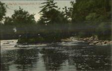 Wappingers Falls NY Little Falls c1910 Postcard