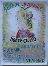 Galerie Rapaire Montecarlo Dufy Chagall Buffet Orig Lithografie Mourlot 1965