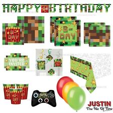 TNT Party Gaming Tableware Decorations Supplies Balloons Banners