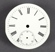 Altes Zifferblatt f Taschenuhr Uhr EMAIL Taschenuhrzifferblatt pocket watch dial