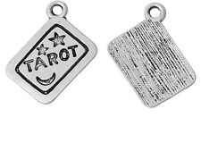 5 x Tarot Card Charms Pagan Charms Wiccan Jewellery Making Crafts