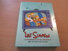 coffret 4 dvd les simpson l'integrale de la saison 2 edition collector
