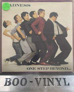 "Madness One Step Beyond Stiff Original 1979 Vinyl 7"" Record EX / EX CON"