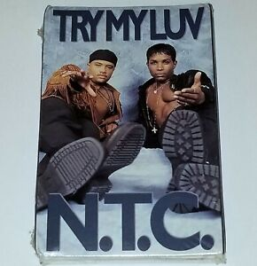 """N.T.C. TRY MY LUV SEALED R&B TAPE CASSETTE NEW JACK SWING BOOMBOX Funk lp cd 12"""""""