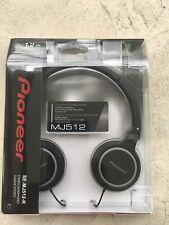 Pioneer Stereo headphone SE-MJ512-K black-brand new  Headband On Ear For Mp3 Cd