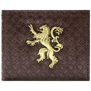 NEW OFFICIAL GAME OF THRONES A LANNISTER ALWAYS PAYS HIS DEBT BI-FOLD WALLET