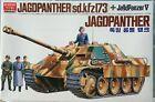 Academy Jagdpanther 1:25  (sd.kfz.173) Jagdpanzer V motorized tank model. NEW