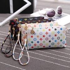 Women Girl Party Handbag Messenger Bag PU Leather Satchel Wallet Purse Phone Bag