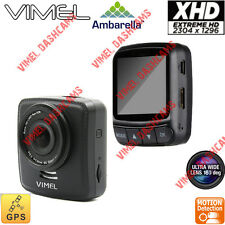 Dash Camera Ambarella A7 GPS 1296P In Car Security Recorder Blackbox 0806 0805