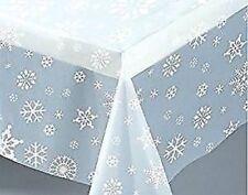Decoración y menaje manteles de plástico para mesas de fiesta, Navidad