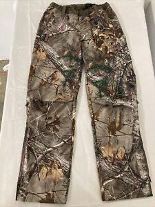 EUC Women Browning Hells Belles Advanced Scent Control Realtree Xtra Pants Small