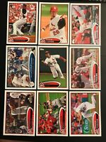 2012 Topps ST. LOUIS CARDINALS Complete Team Set w Update WS CHAMPS 41 Cards !