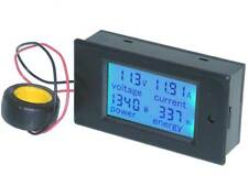 Panel Meter, Snap-in, Multi Function AC Volts, 100Amps and 22KW *32403 ME