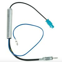 CT27AA14 for Volkswagen Touran 03> Amplified Fakra to Din Aerial Antenna Adaptor