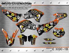 KTM SX SXf 125 250 450 525 2007 up to 2010 graphics decals kit Moto StyleMX