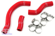 HPS Reinforced Silicone Radiator Hose Kit - 450SXF Racing Dirt Bike 11-12 Red