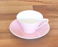 "Lilienporzellan ""Daisy"" rosa Tasse mit Untertteller"