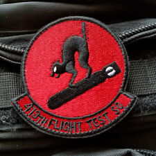 Us Air Force Black Ops 413th Flight Test So Squadron Bombcats Hook Patch Badge