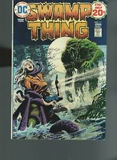 Swamp Thing #11 [DC, 1974] VF 8.0 Redondo Story and Cover, 20 cent cover