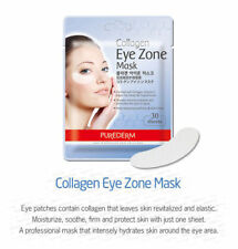 PUREDERM Collagen Hydro Eye Zone Mask - 30 sheets/ pack  x 2 pack (US Shipper)