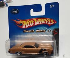 Hot Wheels Muscle Mania 1964 Buick Riviera in Ovp.