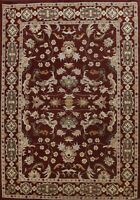 Floral Agra Hand-tufted Oriental Area Rug Traditional Living Room Carpet 10'x13'