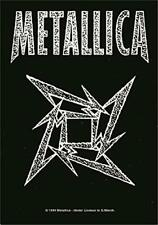 METALLICA - NINJA STAR - FABRIC POSTER - 30x40 WALL HANGING - MUSIC 53741