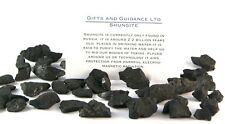 Shungite Raw 200 Grams 80-120 Pieces Electromagnetic Protection