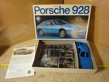 Rare! Vintage Entex Porsche 928 import, 1/20 scale model car kit. NOS/New!