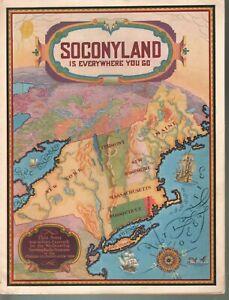 Soconyland Is Everywhere You Go 1928 Advertising Standard Oil