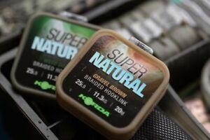 Korda NEW Super Natural Braid *All Variations Available* - Lavender Tackle -