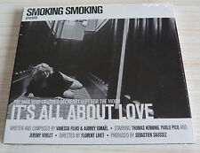 CD ALBUM DIGIPACK IT'S ALL ABOUT LOVE BY SMOKING SMOKING 11 T NEUF SOUS CELLO